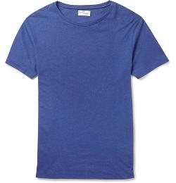 Gant Rugger - Linen-Blend Jersey T-Shirt