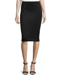 Nicole Miller - Neoprene Pencil Skirt