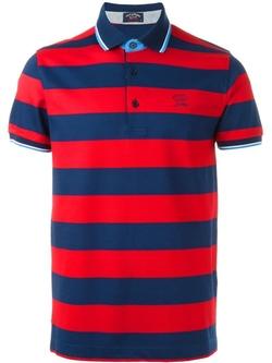 Paul & Shark - Striped Polo Shirt