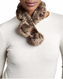 Belle Fare  - Rabbit Fur Neck Warmer