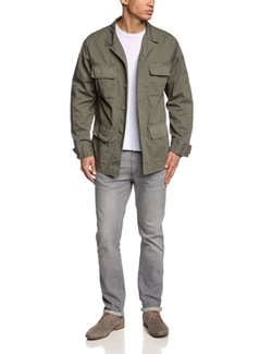 Surplus - Washed Olive BDU Jacket