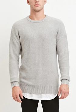 21 Men - Dropped-Sleeve Sweater