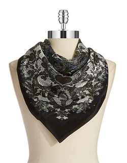 Echo  - Paisley Lace Print Scarf