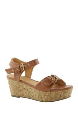 Anna - Nicole Platform Wedge Sandals