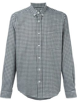 Ami Alexandre Mattiussi   - Gingham Check Shirt
