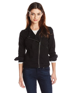 Lucky Brand - Black Amber Moto Jacket