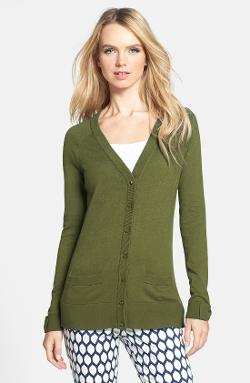 Kate Spade New York  - Cary Cotton Blend Cardigan