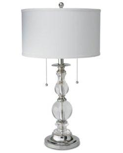 Royal Velvet - Optic Crystal Table Lamp