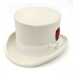 Ferrecci -  Classic Wool Elegant English Top Hat