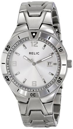 Relic - Vince Silvertone Watch