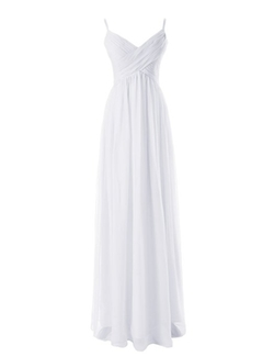 Diyouth - Pleated Formal Evening Gown