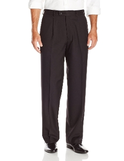 Cubavera - Striated Herringbone One Pleat Dress Pants