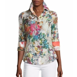Georg Roth Los Angeles - Floral-Print Long-Sleeve Blouse