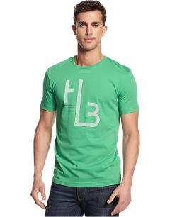 Hugo Boss - Green Reflective T-Shirt