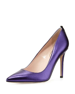 SJP by Sarah Jessica Parker - Fawn Metallic Point-Toe Pumps