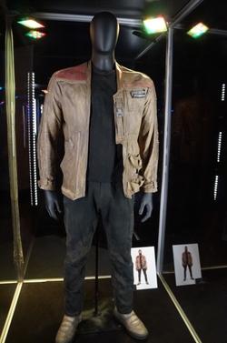 Michael Kaplan (Costume Designer) - Custom Made Nubuck Jacket