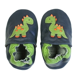 Tommy Tickle - Dinosaur Crib Shoes