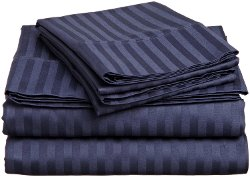Impressions by Luxor Treasures - Genuine Egyptian Cotton Sheet Set Stripe