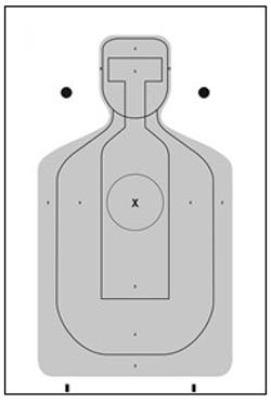 Alameda County  - Sheriffs Ofc Cardboard Target