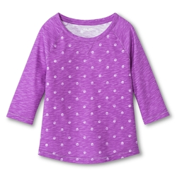 Cherokee - Polka Dot Long Sleeved Tee