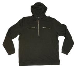 Calvin Klein Jeans  - Hooded Half Zip Sweatshirt