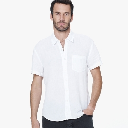 James Perse - Cotton Gauze Casual Shirt