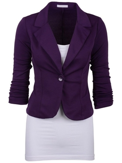 Double Love - Single Button Vogue Blazer
