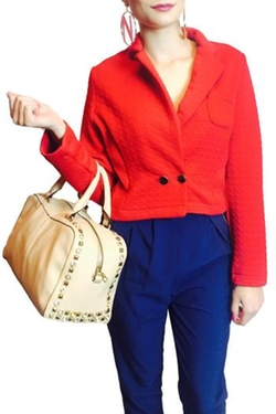 Glam Squad Shop - Red Blazer
