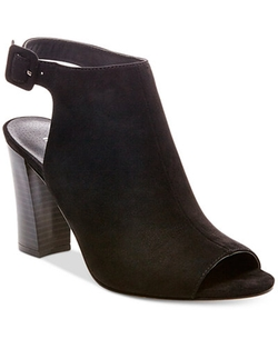 Madden Girl  - Beckkie Slingback Peep-Toe Booties