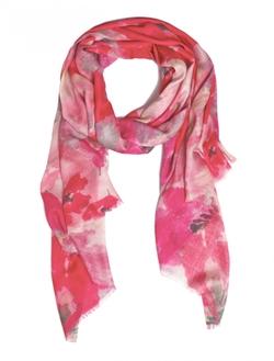 Bindya  - Cashmere Silk Floral Scarf