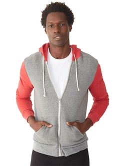 Alternative Apparel - Rocky Eco-Fleece Zip Hoodie Jacket