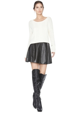 Alice + Olivia - Boxy Cable Sweater