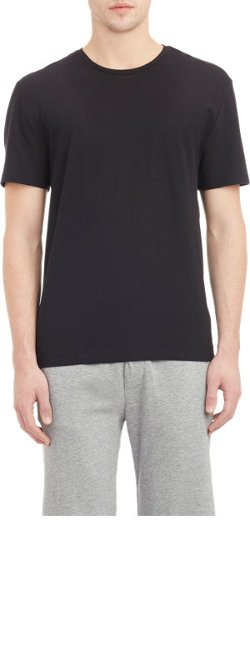 T By Alexander Wang  - Slub-Weave T-Shirt