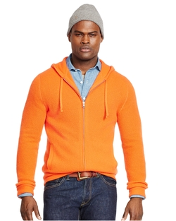 Polo Ralph Lauren - Waffle-Knit Cashmere Hoodie