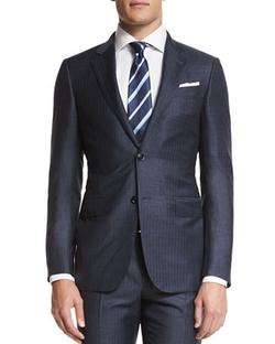 Ermenegildo Zegna - Textured Stripe Silk Tie