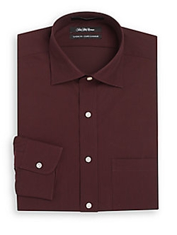 Saks Fifth Avenue  - Classic-Fit Fine Line Dress Shirt