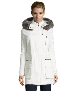 Vince - Hooded Quilted Parka Jacket