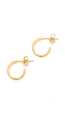 Gorjana  - Taner Bar Mini Hoop Earrings