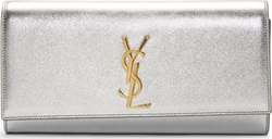 Saint Laurent - Leather Monogramme Clutch Bag