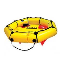 Revere Supply  - 4-Person Coastal Compact Life Raft