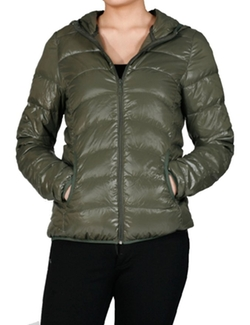Make It Mint - Packable Lightweight Puffy Jacket