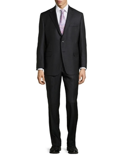 Hickey Freeman - Pinstripe Two-Piece Suit