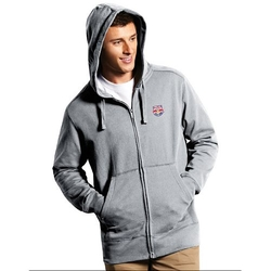 Antigua  - New York Red Bulls Signature Full-Zip Hoodie