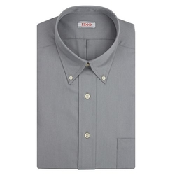Izod  - Solid Twill Button-Down Collar Dress Shirt