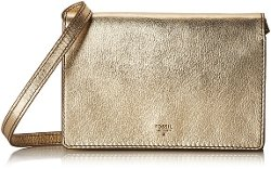 Fossil - Metallic Flap Mini Cross Body Bag