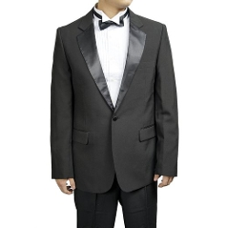 Broadway Tuxmakers - Black Notch Collar Tuxedo Suit