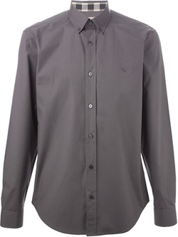 Burberry Brit  - Button-Down Collar Shirt