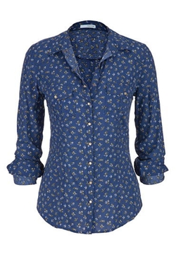Maurices - Floral Print Button Down Shirt