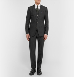 Dolce & Gabbana  - Slim-Fit Wool and Silk-Blend Three-Piece Suit