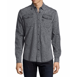 G-Star  - Landoh Printed Denim Shirt